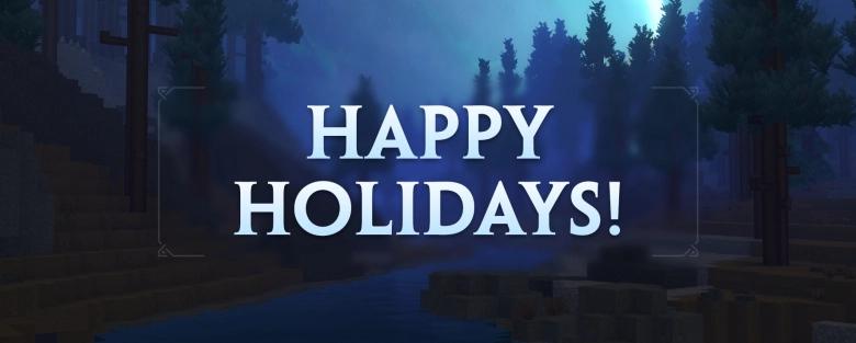 Joyeuses fêtes Hytale !