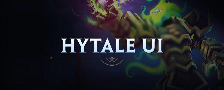 L'interface utilisateur d'Hytale