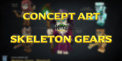 Photo of Concept Art : Skeleton Gears