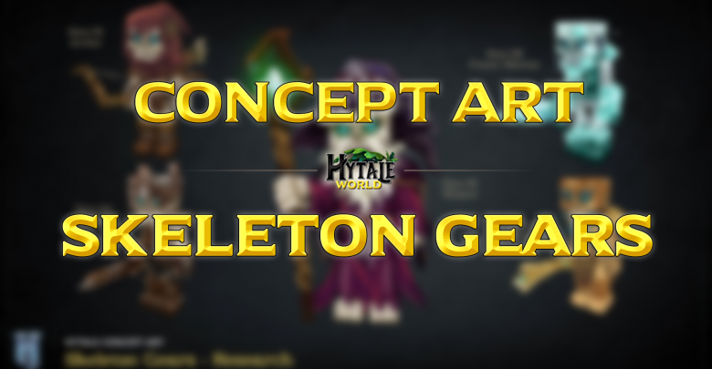 Concept Art : Skeleton Gears
