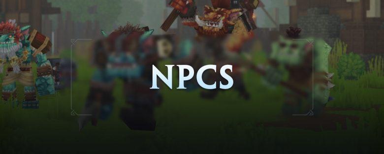 Les NPC d'Hytale
