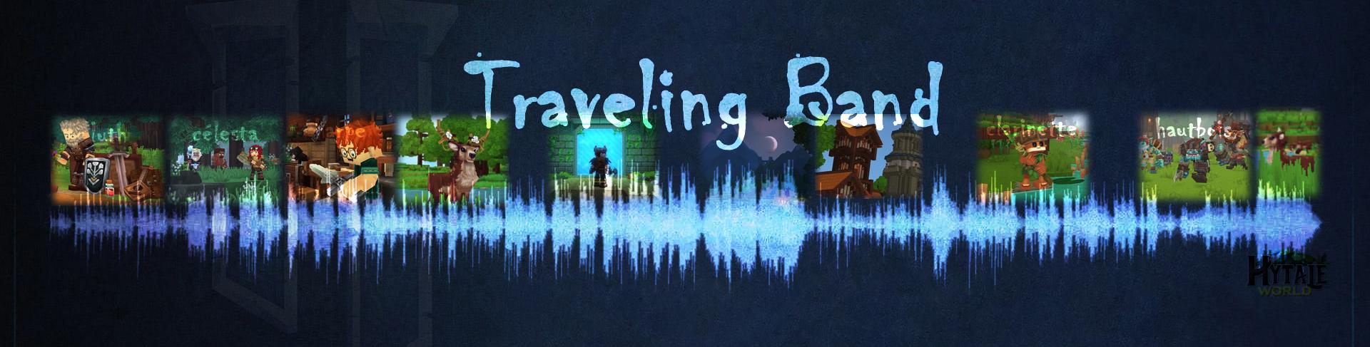 Interprétation scénarisée du titre Traveling Band d'Oscar Garvin
