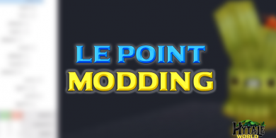 Photo of Le point Modding