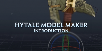 Photo of Zoom sur Hytale Model Maker