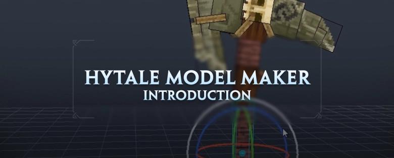 Zoom sur Hytale Model Maker