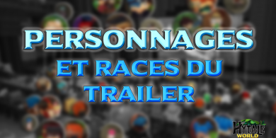 Photo of Les Personnages et Races du trailer