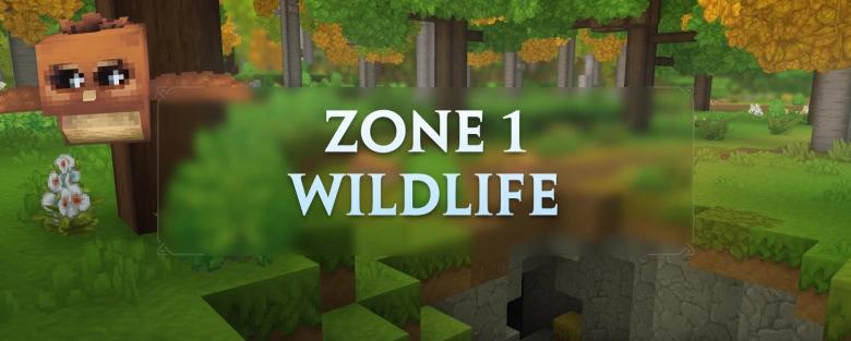 La Faune et Vie sauvage de la Zone 1
