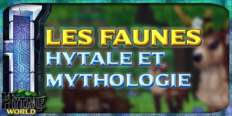 Les Faunes entre Hytale et Mythologie