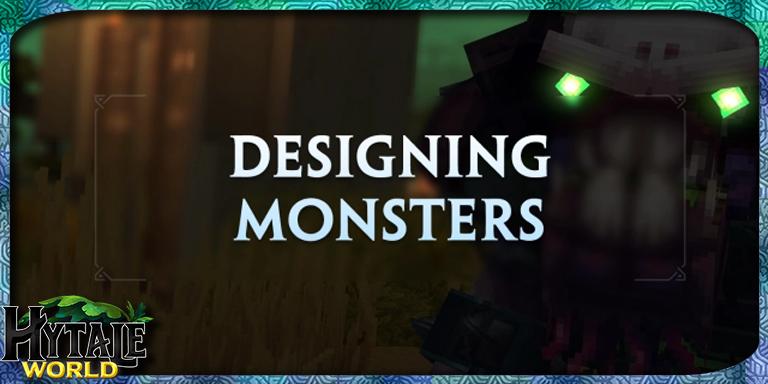 Concevoir des Monstres pour Hytale