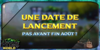 Photo of Une date de lancement pas avant fin Août?