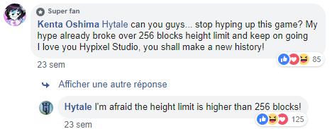 Altitude dans Hytale: le double de Minecraft?