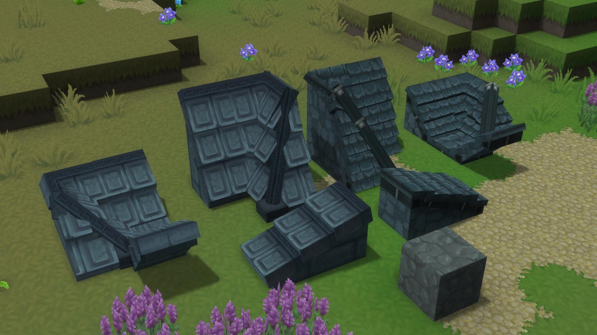 Les nouveaux blocs de toits