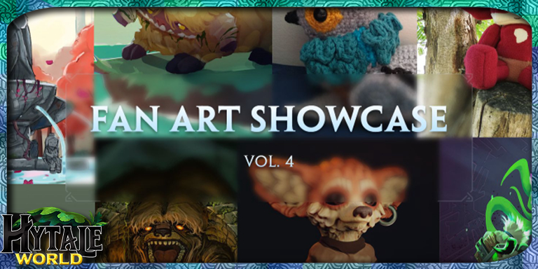 Expo des Fan Arts d'Hytale (Volume 4)